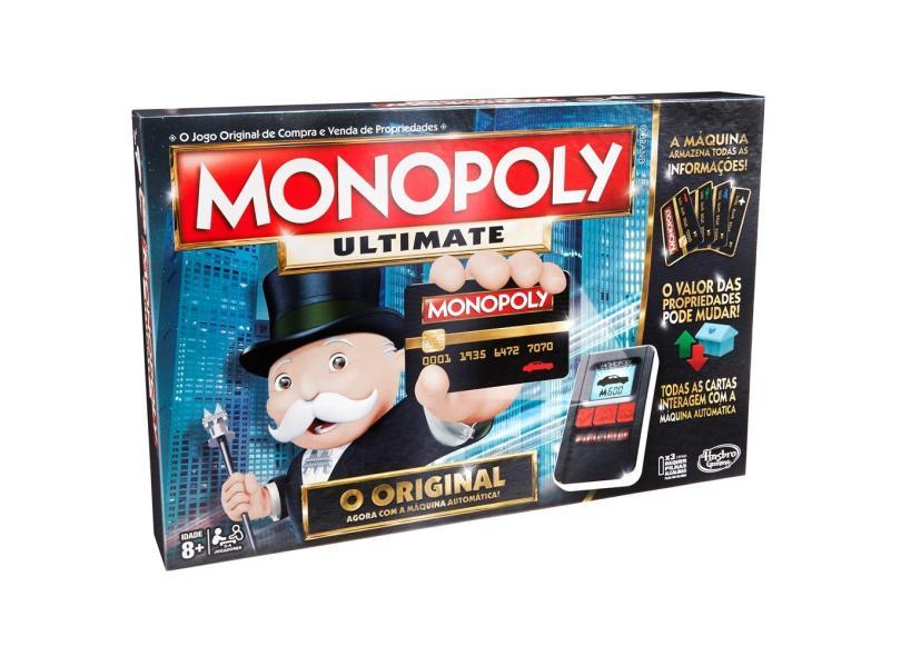 Jogo Monopoly Ultimate Banking Hasbro