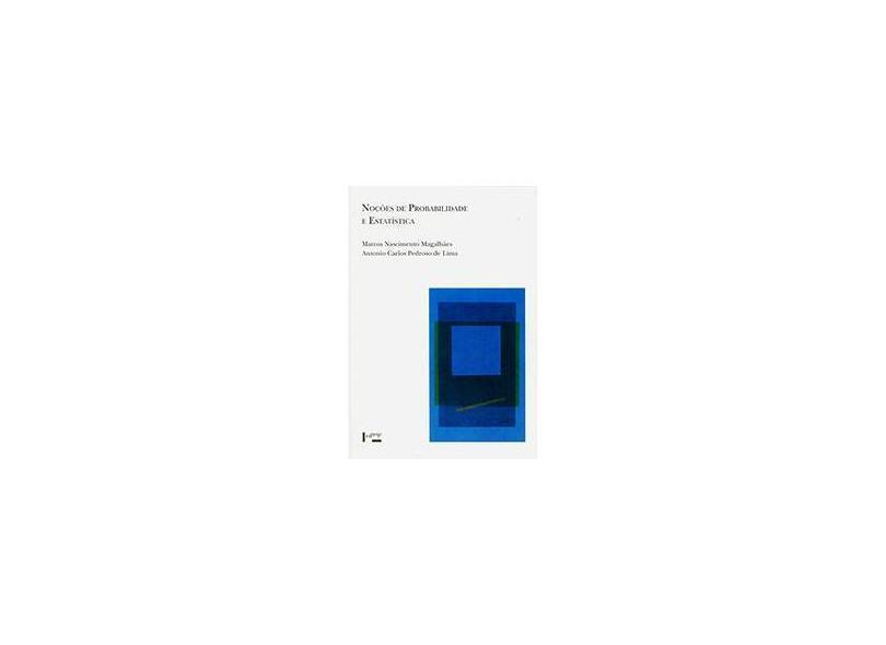 Noções De Probabilidade E Estatística - Capa Comum - 9788531406775