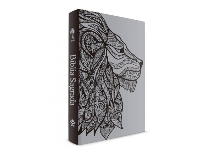 Bíblia Leão Prateado - Capa Dura Luxo - Nova Tradução na Linguagem de Hoje - 0606529916374