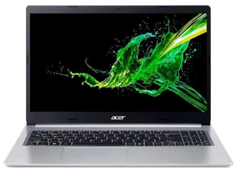 """Notebook Acer Aspire 5 Intel Core i5 10210U 10ª Geração 8.0 GB de RAM 512.0 GB 15.6 """" Windows 10 A515-54-50BT"""
