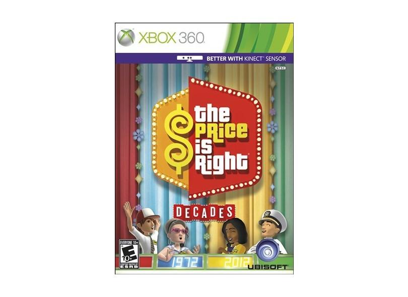Jogo The Price is Right Decades Xbox 360 Ubisoft