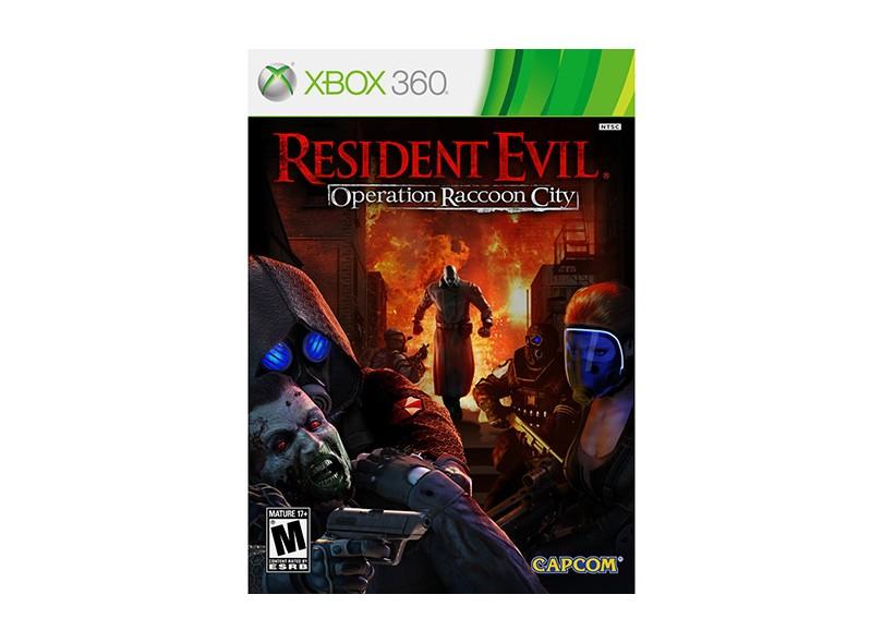 Jogo Resident Evil: Operation Raccoon City Capcom Xbox 360