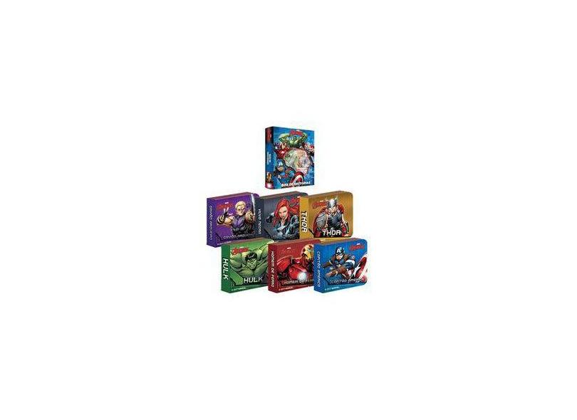 Os Vingadores - Caixa - Naihobi Steinmetz - 9788594721235