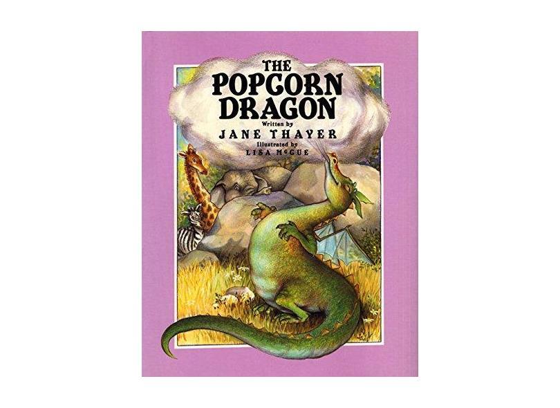 The Popcorn Dragon - Catherine Woolley - 9780688083403