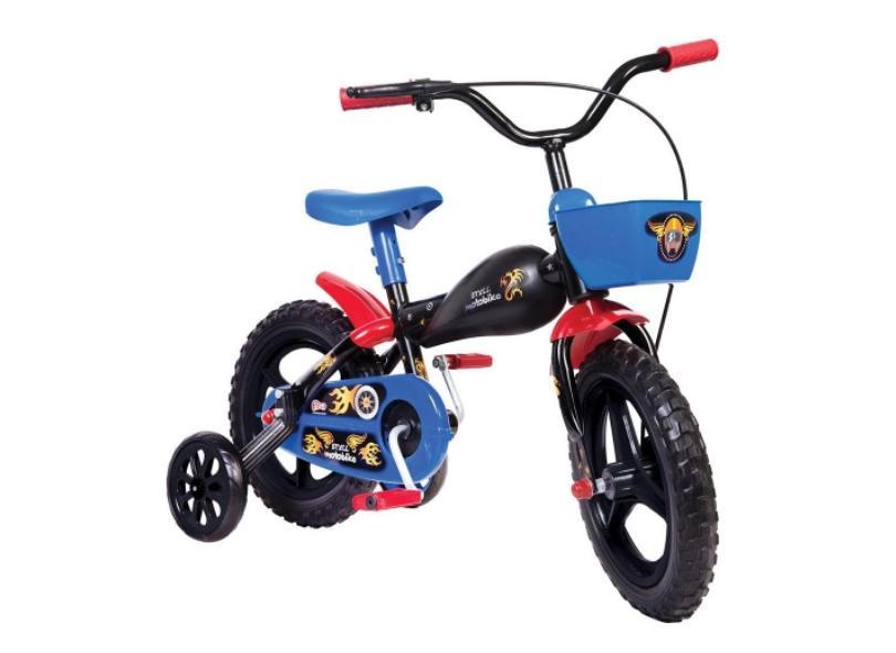 Bicicleta Styll Kids Lazer Aro 12 Moto bike