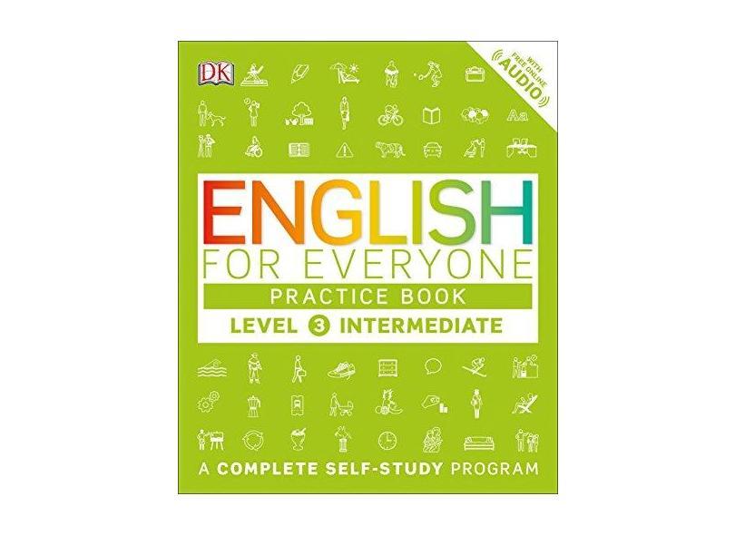 English for Everyone: Level 3: Ntermediate, Practice Book - Dk - 9781465448682