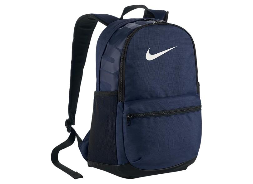 Mochila Nike com Compartimento para Notebook Brasilia Medium