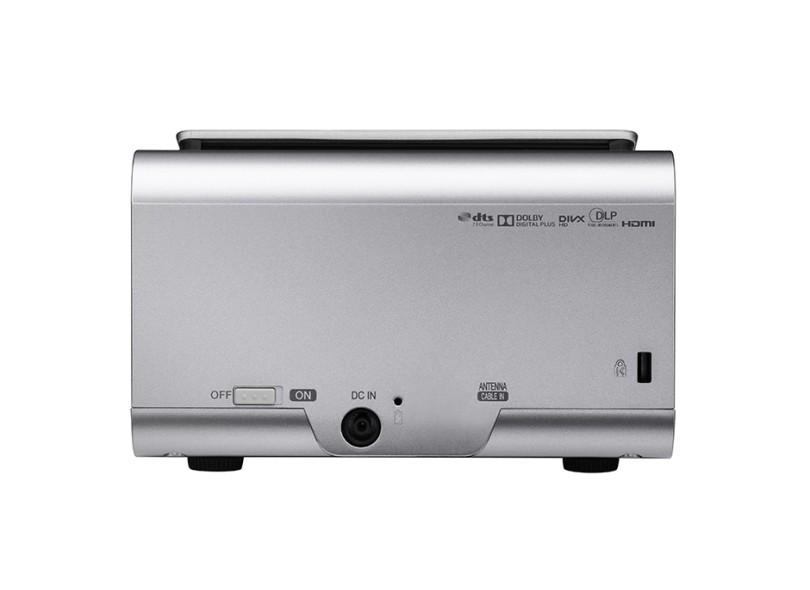 Projetor LG Minibeam 450 lumens Projeção em 3D PH450U