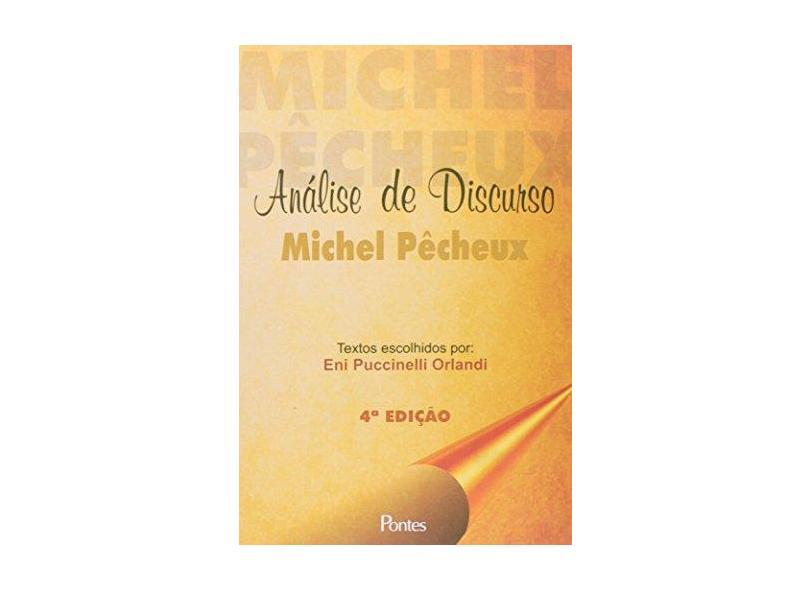 Análise de Discurso - Michel Pêcheux - 9788571133358