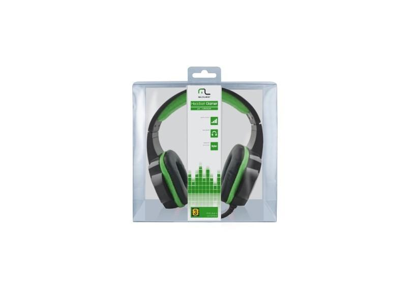 Headset com Microfone Multilaser PH123