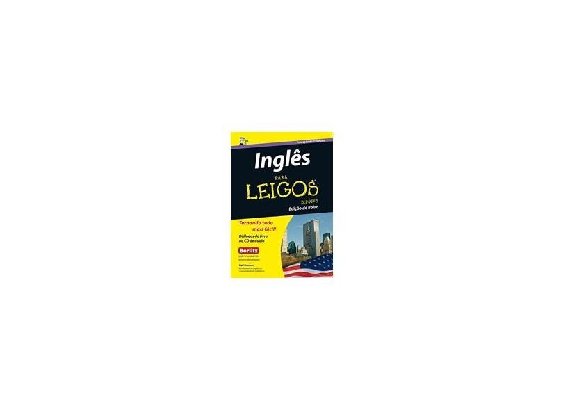 Inglês Para Leigos (Edição de Bolso) - Gail Brenner - 9788576087236