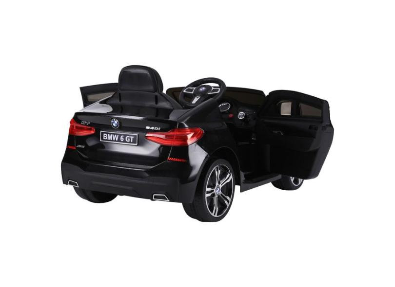 Mini Carro Elétrico Bmw 6 Gt com Controle Remoto - Bel Fix