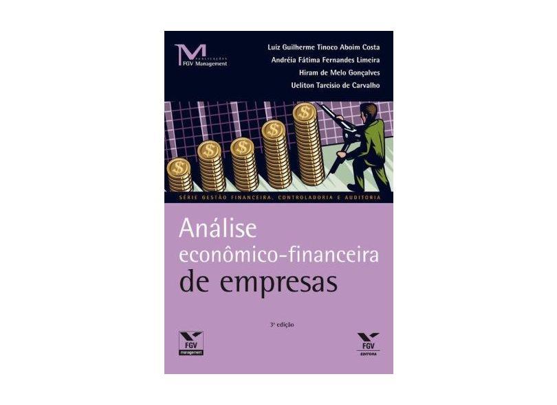 Análise Econômico-Financeiro de Empresas - Vários Autores - 9788522508853