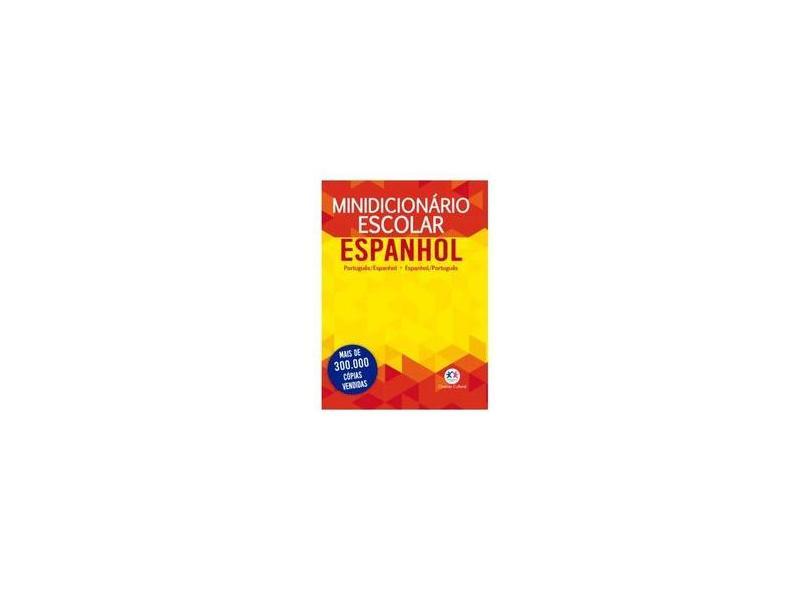 Minidicionário Escolar Espanhol - Cultural, Ciranda - 9788538073932