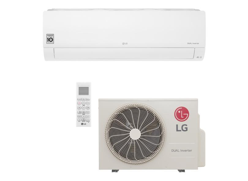 Ar Condicionado Split Hi Wall LG Dual Inverter Voice 24000 BTUs Inverter Controle Remoto Quente/Frio S4-W24KE311