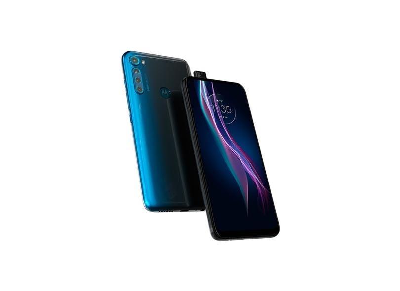 Smartphone Motorola MotorolaOne Fusion Plus XT2067-2 128GB Câmera Quádrupla Qualcomm Snapdragon 730 2 Chips Android 10