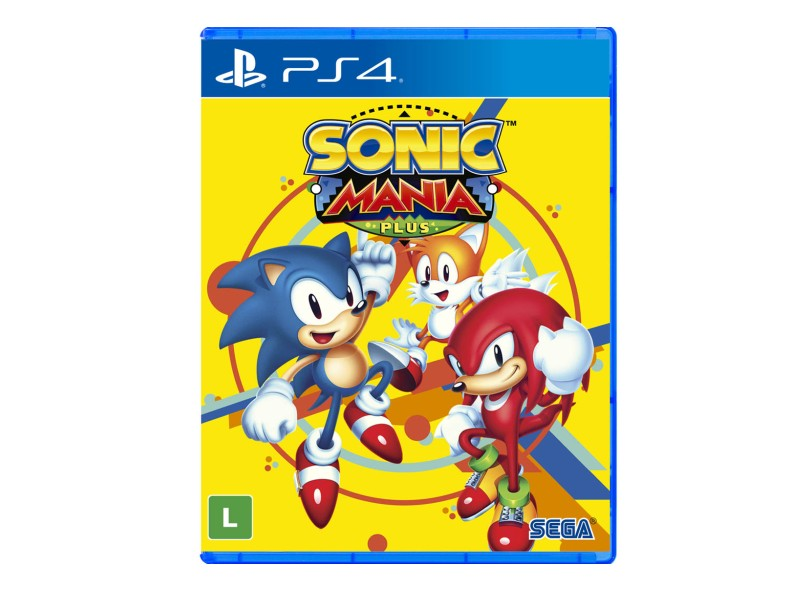Jogo Sonic Mania Plus PS4 Sega