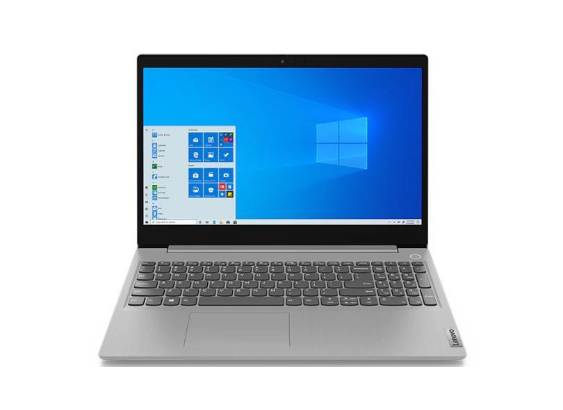 """Notebook Lenovo IdeaPad 3i Intel Core i5 10210U 10ª Geração 8 GB de RAM 256.0 GB 15.6 """" Windows 10 82BS0005BR"""