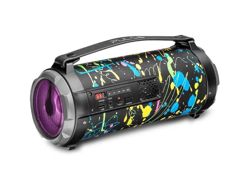 Caixa de Som Bluetooth Pulse Bazooka Paint Blast I SP361 80 W