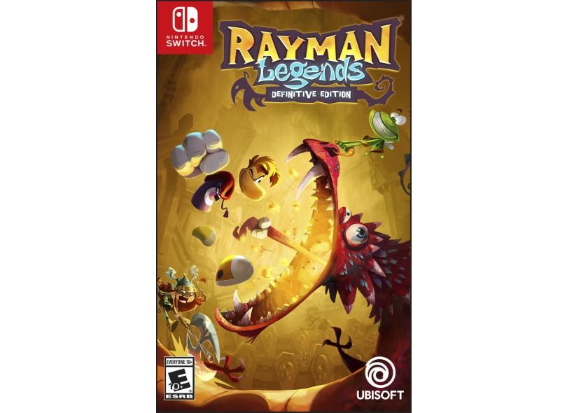 Jogo Rayman Legends Ubisoft Nintendo Switch