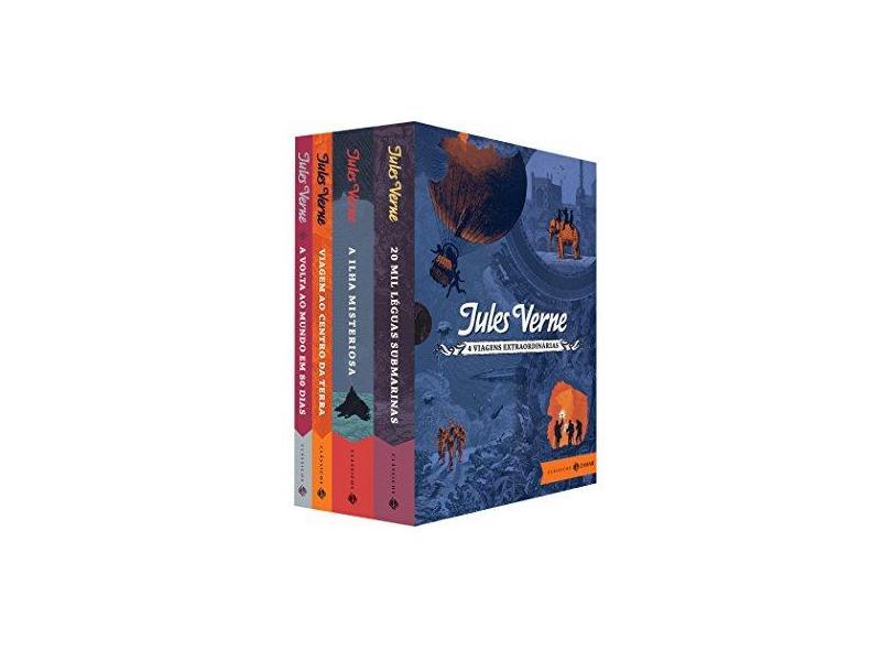 Box Viagens Extraordinárias – Clássicos Zahar - Jules Verne - 9788537817902