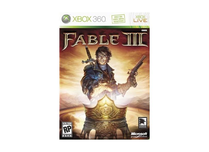 Jogo Fable III Microsoft  Xbox 360