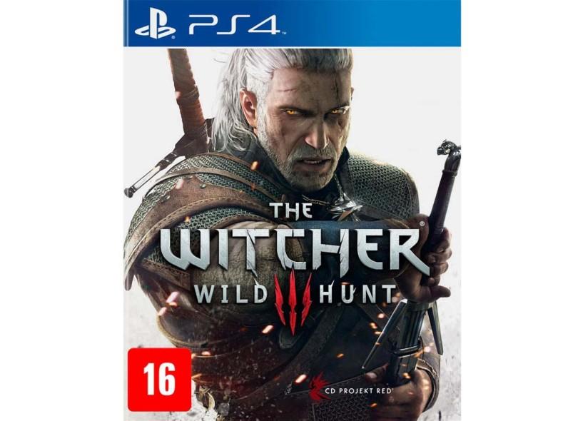 Jogo The Witcher III Wild hunt PS4 CD Projekt Red