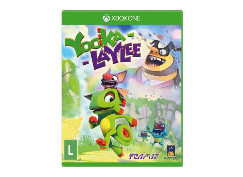 Jogo Yooka-Laylee Xbox One Playtonic Games