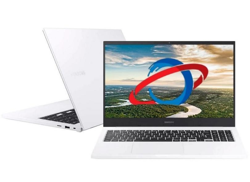 "Notebook Samsung Book E30 Intel Core i3 10110U 10ª Geração 4GB de RAM HD 1 TB 15,6"" Full HD Windows 10 NP550XCJ-KT"
