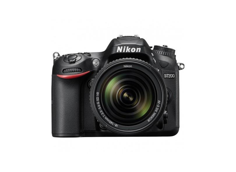 Câmera Digital DSLR(Profissional) Nikon 24.2 MP Full HD D7200