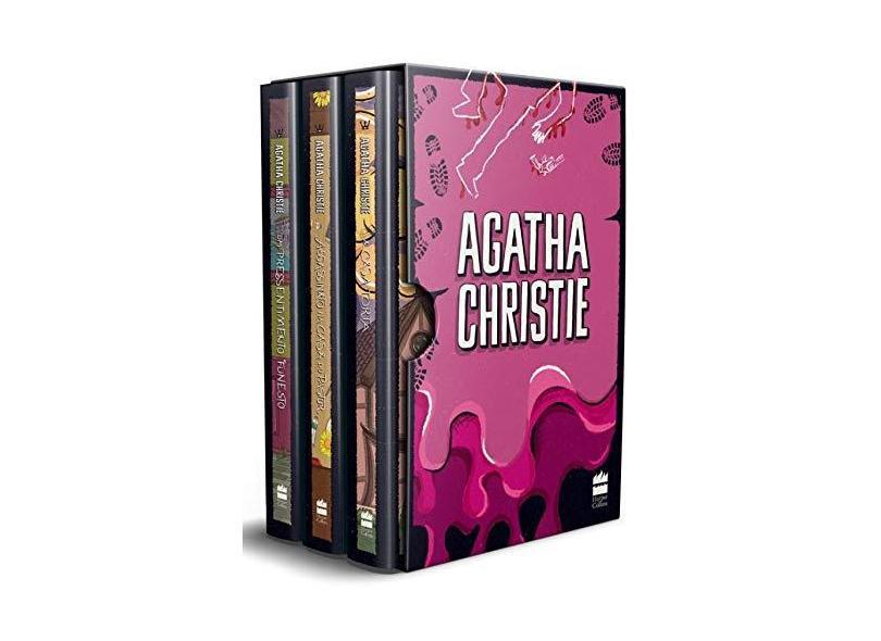 Box - Agatha Christie 7 - 3 Volumes - Christie, Agatha - 9788595080355