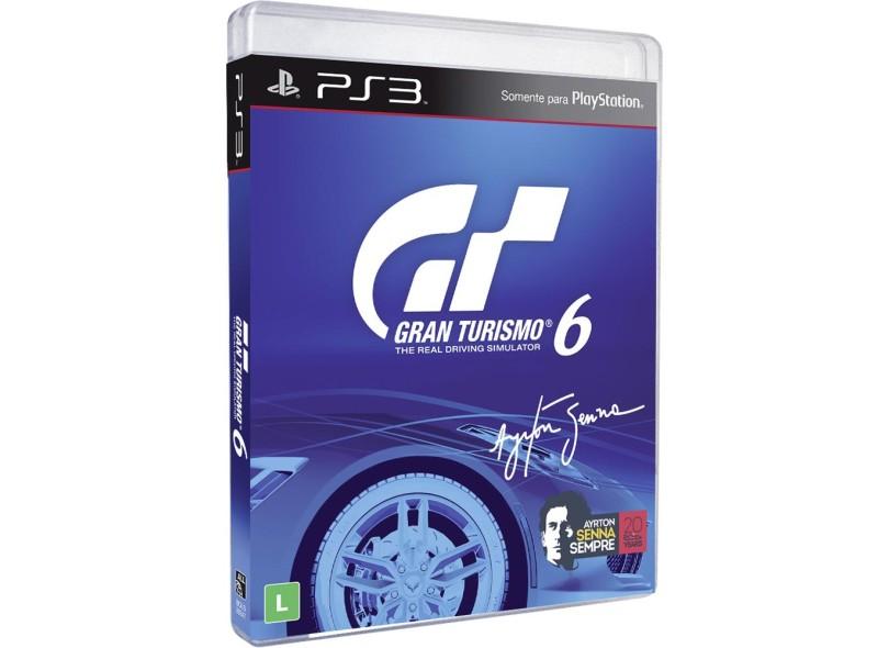 Jogo Gran Turismo 6 PlayStations 3 Sony