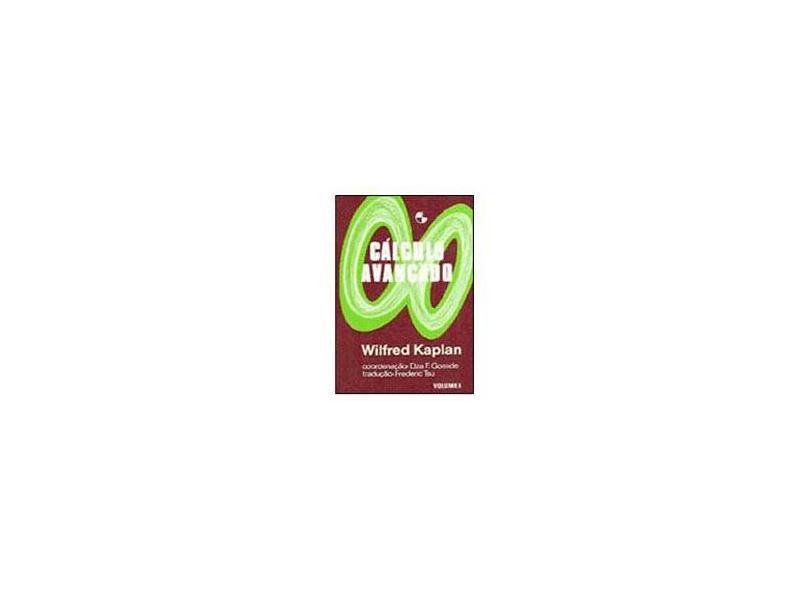 Cálculo Avançado - Wilfred Kaplan - 9788521200475