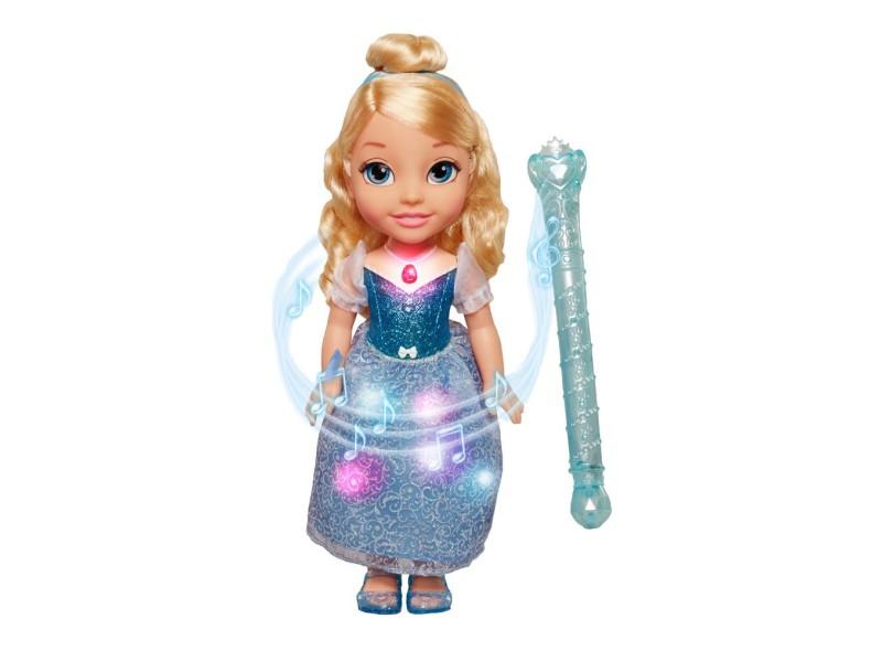 Boneca Princesas Disney Cinderela Mágica Sunny