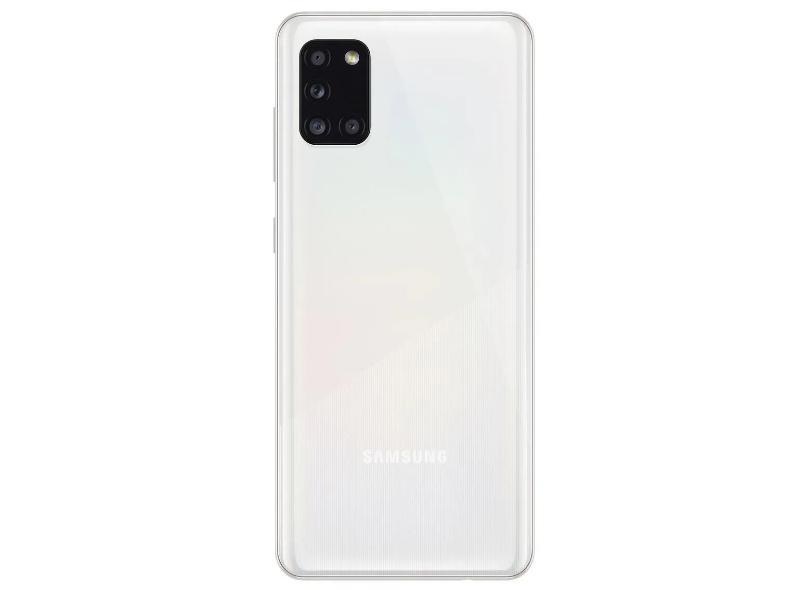 Smartphone Samsung Galaxy A31 SM-A315G 128GB Câmera Quádrupla 2 Chips Android 10