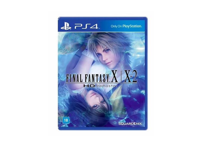 Jogo Final Fantasy X/X2 HD Remaster PS4 Square Enix