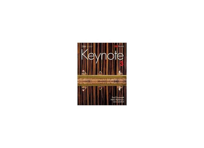 Keynote - Ame - 3 - Student Book With Keynote Online Sticker - Paul Dummett - 9781337104128