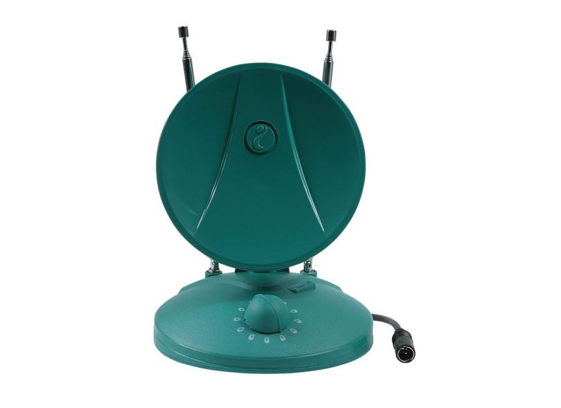 Antena de TV Interna VHF UHF HDTV Digital - Indusat AI-200I