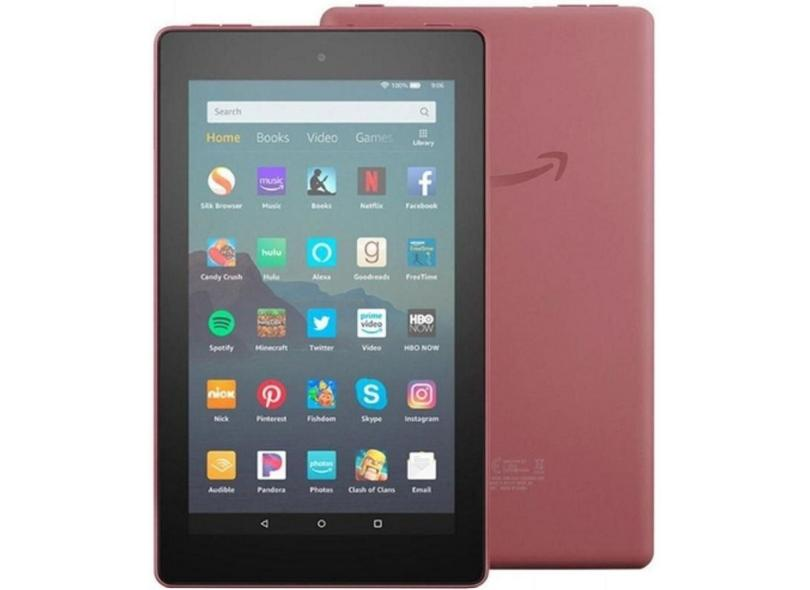 """Tablet Amazon 16GB IPS 7"""" Fire OS 5 Fire 7"""