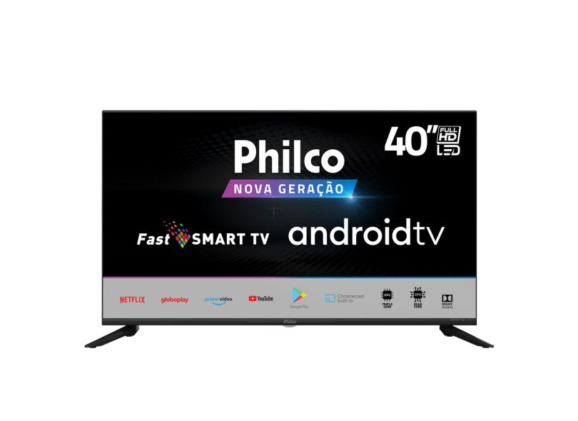 "Smart TV TV LED 40 "" Philco Full PTV40G71AGBL 2 HDMI"