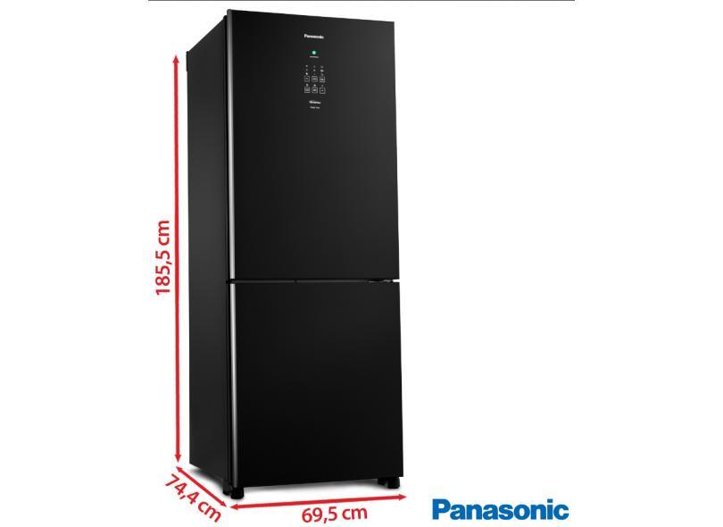 Geladeira Panasonic Frost Free Inverse 425 l NR-BB53GV3B
