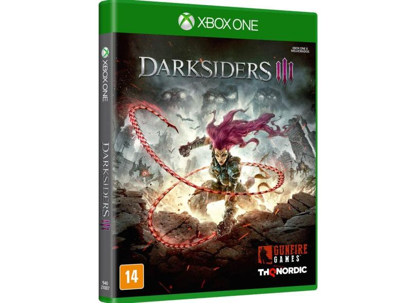 Jogo Darksiders III Xbox One Nordic Games