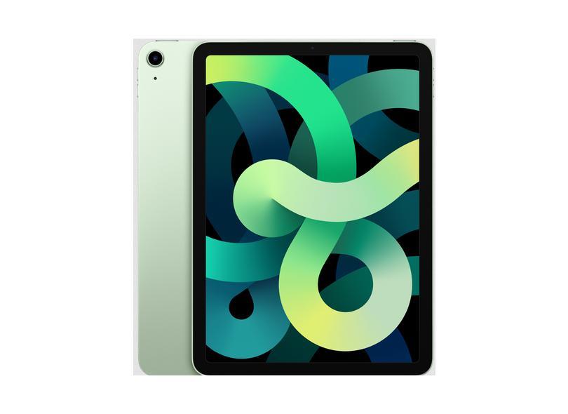"Tablet Apple iPad Air 4ª Geração Apple A14 Bionic 256.0 GB LED 10.9 "" iPadOS 12.0 MP"
