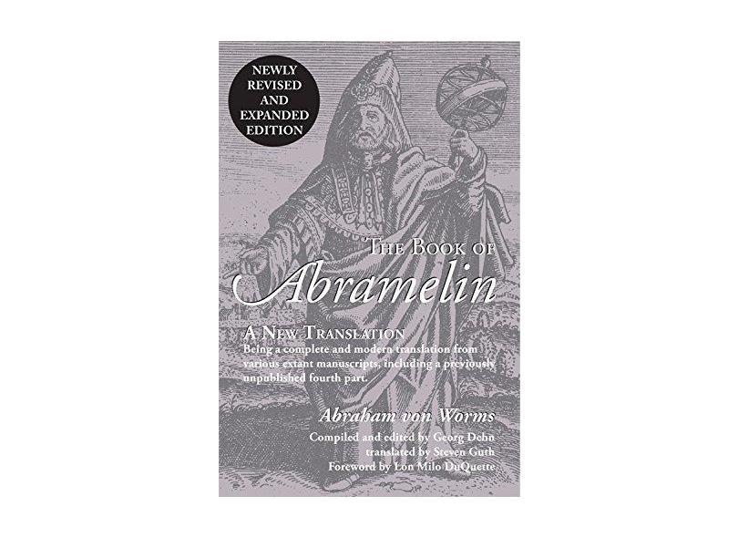 """The Book Of Abramelin - """"vários Autores"""" - 9780892542147"""