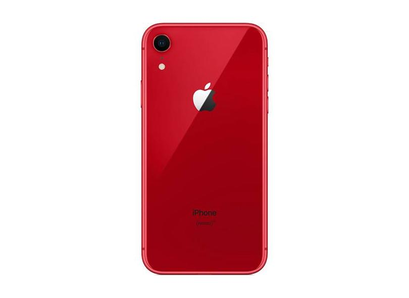 Smartphone Apple iPhone XR Vermelho 64GB 12.0 MP iOS 12 3G 4G Wi-Fi