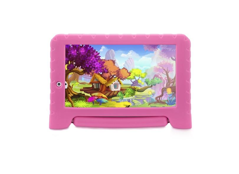 "Tablet Multilaser 32.0 GB IPS 7 "" Android 4.4 (Kit Kat) 2.0 MP Kid Pad Plus"