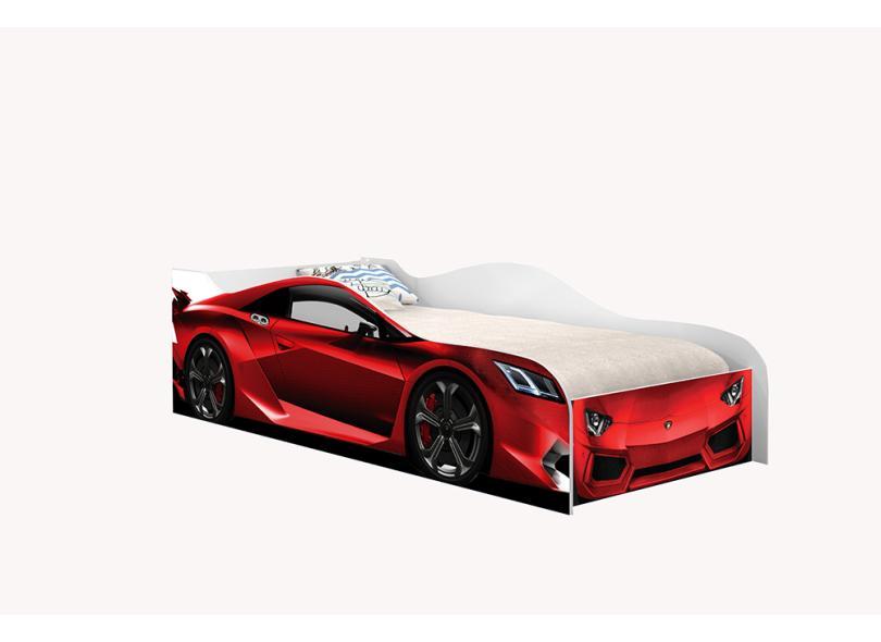Cama Infantil sem Colchão Carro Lamborghini 157cm Móveis Print
