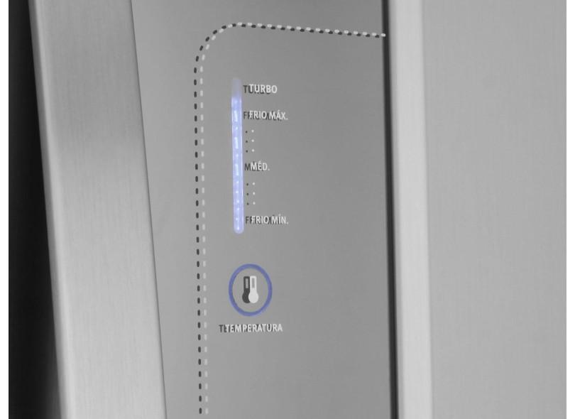 Geladeira Electrolux Frost Free Duplex 380 Litros Inox DW42X