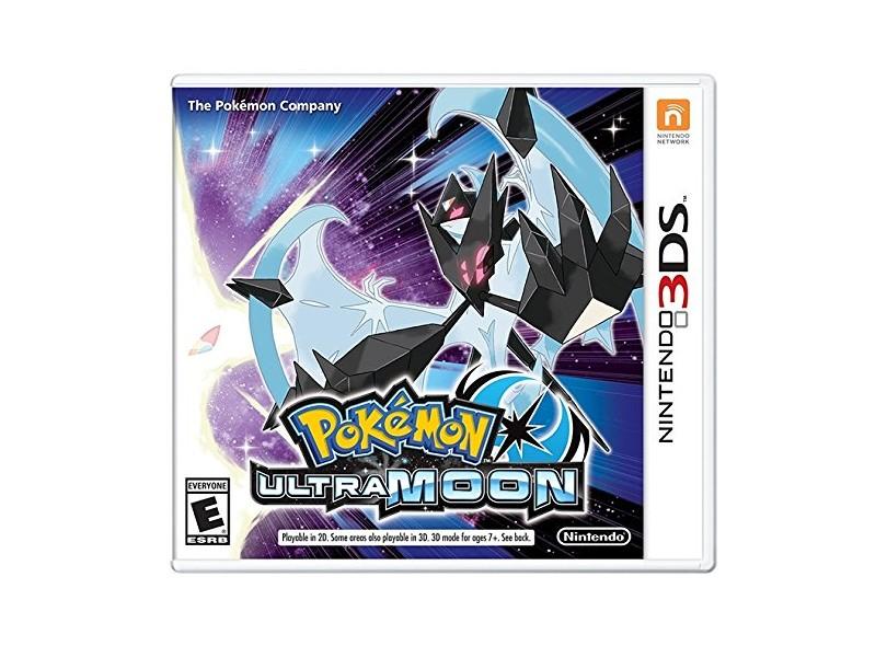 Jogo Pokémon Ultra Moon The Pokémon Company Nintendo 3DS