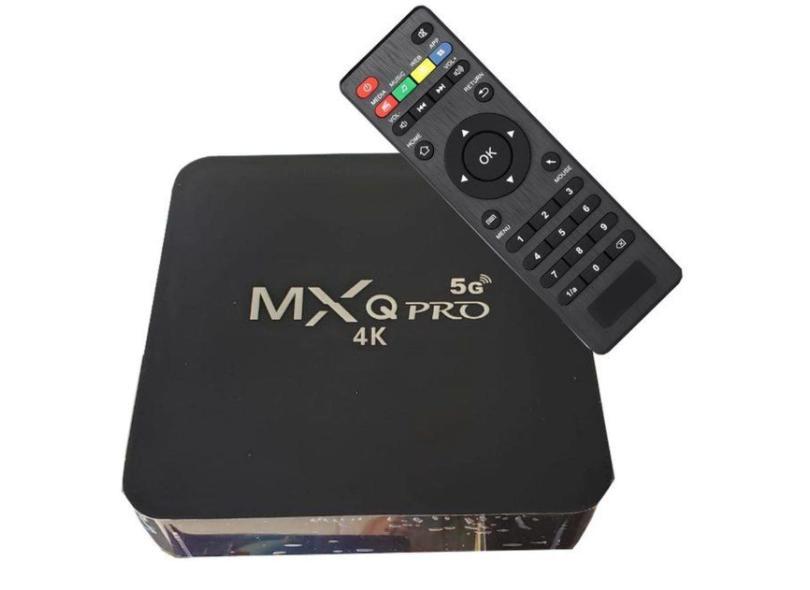 Smart TV Box MXQ Pro Wi-Fi 5G 64GB 4K Android TV HDMI USB